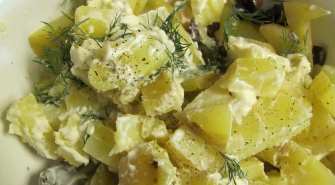 Basic Potato Salad with Fresh Dill