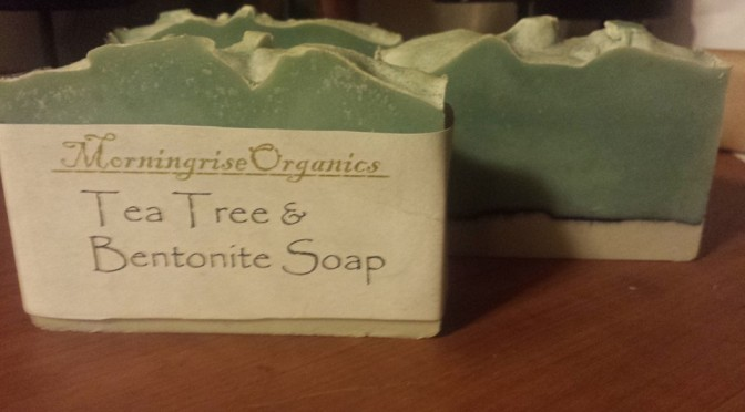 Rose Soap and Tea Tree Kaolin Clay Cold Process Soap