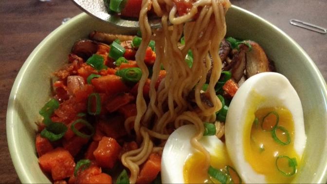 Roasted Vegetable Miso Ramen