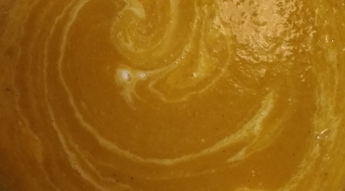 Acorn Squash Coconut Curry Soup