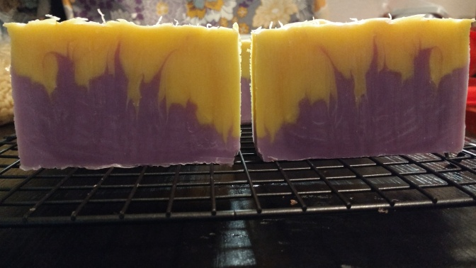 Bergamot/Black Tea/Lavender Soap Remake