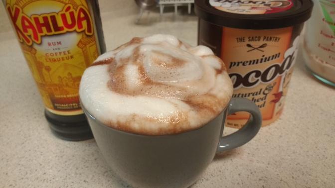 Dairy-Free Kahlua Hot Cocoa