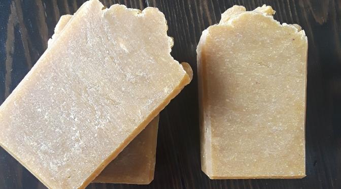 Hot Process Carrot & Turmeric Soap