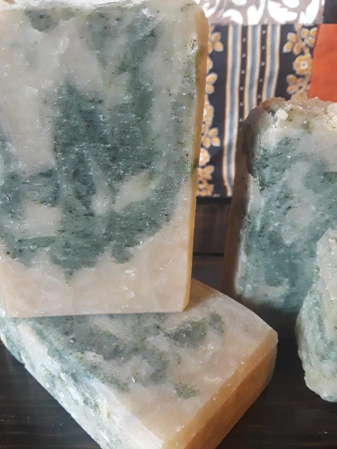 Green Tea Bamboo Soap
