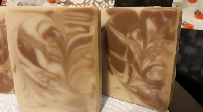 Oatmeal, Coconut Milk & Honey Cold Process Soap