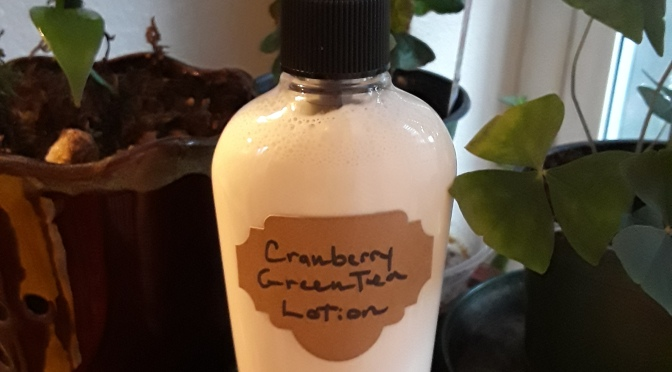 Cranberry Green Tea Lotion