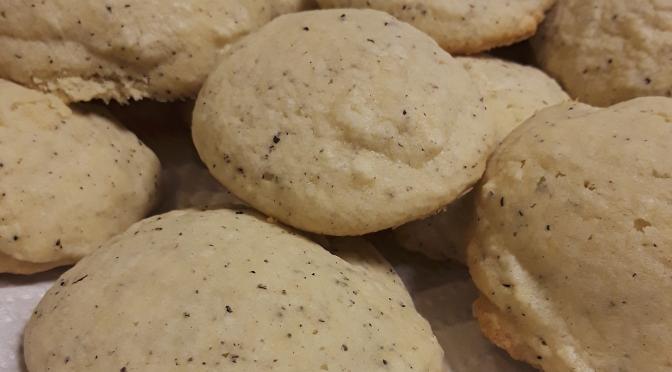 Cardamom & Black Tea Cookies