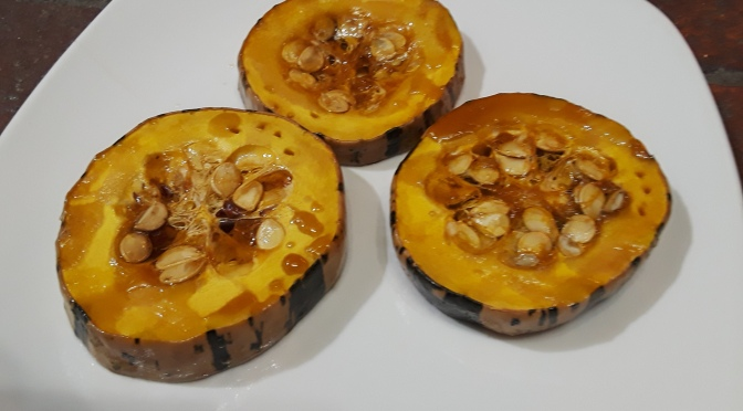 Maple Baked Delicata Squash